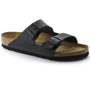 "Black ""Narrow"" Birkenstock's"